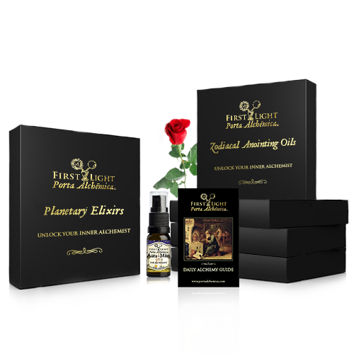 Porta Alchémica® Complete Elixirs and Anointing Oils Kit and Aura Mist