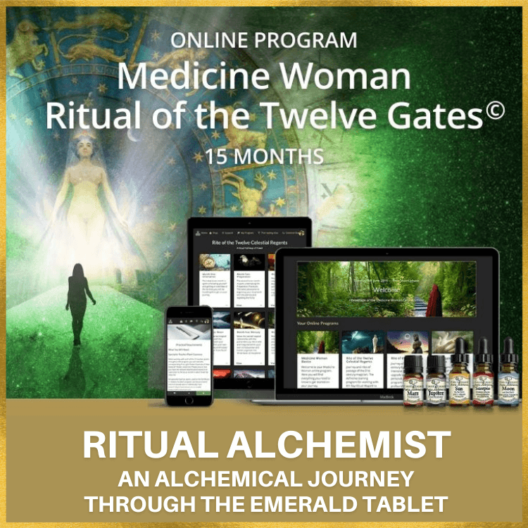 4 June 2020 - Official Launch and First Intake of Medicine Woman Ritual of the Medicine Woman Twelve Gates©