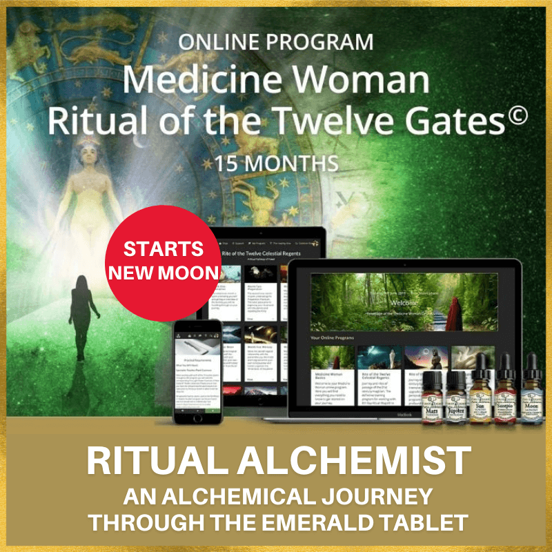 New Moon - Medicine Woman Ritual of the Twelve Gates© Online Program