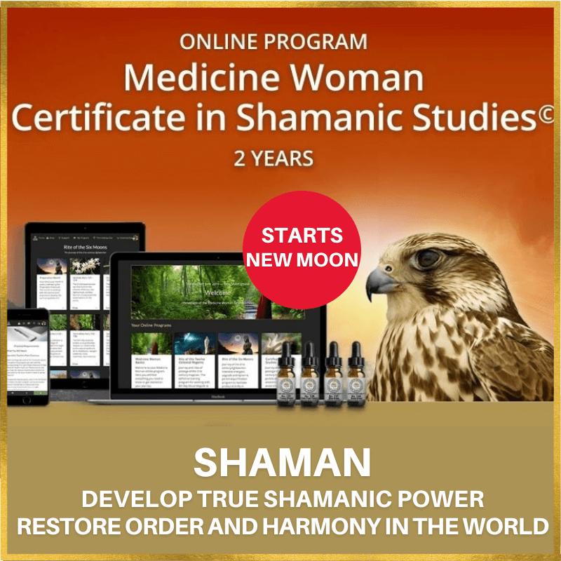 New Moon - Medicine Woman Certificate in Shamanic Studies© Online Program